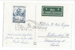 20938 - Christkindl 16.12.1964  Cloches +vignette Über Christkindl - Altri