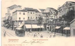 Brésil / Recife - 101 - Praça Da Independencia - Belle Oblitération - Recife
