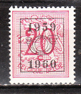 PRE691**  Chiffre Sur Lion Héraldique - 1959-60 - Bonne Valeur - MNH** - LOOK!!!! - Préoblitérés
