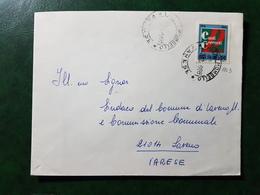 (6102) ITALIA STORIA POSTALE 1968 - 1961-70: Marcophilia