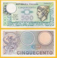 Italy500 Lire P-94 1979 Biglietto Di Stato UNC - Unclassified