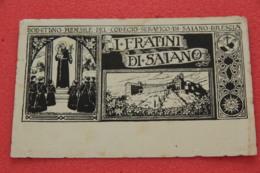 Saiano Brescia Il Collegio Cartolina A China 1950 - Brescia