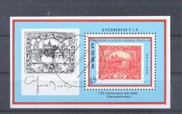 1988  Kuba  Mi-3218  26. August Internationale Briefmarkenausstellung Prag 1988  Block 112 - Blocs-feuillets