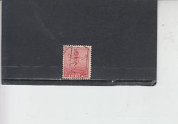 INDIA 1949 - Yvert  11° -  Serie Corrente - 1950-59 Repubblica