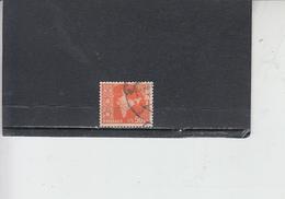 INDIA 1957-58 - Yvert  81° -  Serie Corrente - 1950-59 Repubblica