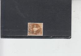 INDIA 1957-58 - Yvert 72° -  Serie Corrente - 1950-59 Repubblica