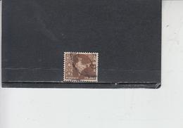 INDIA 1957-58 - Yvert 73° -  Serie Corrente - 1950-59 Repubblica