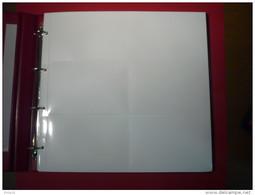 1 LOT DE 5 FEUILLES IDENTIQUES FOND BLANC POUR CARTES POSTALES ANCIENNES OU MODERNES PV CONSEILLE 9.10€  CARTE POSTALE - Materiali