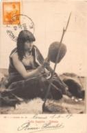 Amerique Du Sud - Indiens / 15 - India Fueguina - Ushuaia - Belle Oblitération - Autres
