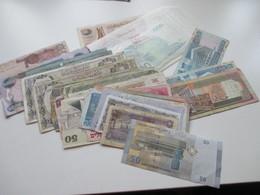 Konvolut Geldscheine / Banknoten Naher Osten Syrien / Libanon / Israel / Ägypten 1970er Jahre - 2009 Fundgrube??? - Libanon