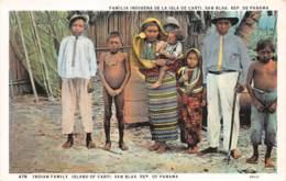Amerique Du Sud - Indiens / 30 - Indian Family - Panama - Autres