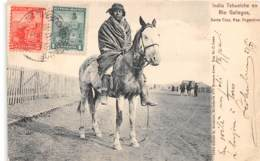 Amerique Du Sud - Indiens / 36 - Indio Tehuelche En Rio Gallegos - Belle Oblitération - Autres