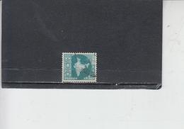 INDIA 1958-63 - Yvert 95A° -  Serie Corrente - 1950-59 Repubblica