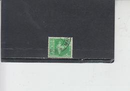 INDIA 1958-63 - Yvert 98° -  Serie Corrente - 1950-59 Repubblica