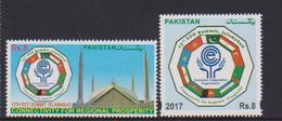 PAKISTAN, 2017, MNH,ECO SUMMIT, FLAGS,2v - Stamps