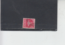 INDIA 1958-63 - Yvert 100A° -  Serie Corrente - 1950-59 Repubblica