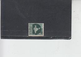 INDIA 1958-63 - Yvert 100° -  Serie Corrente - 1950-59 Repubblica