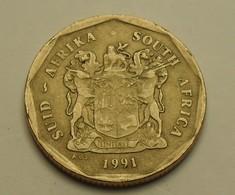 1991 - Afrique Du Sud - South Africa - 50 CENTS, KM 137 - Afrique Du Sud