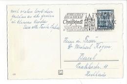 20944 - Christkindl 22.12.1958  Branche Décorée - Natale