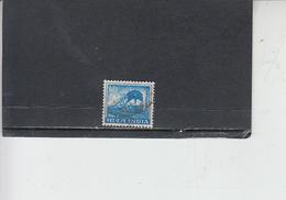 INDIA 1965-66 - Yvert  192° - Serie Corrente - Treno - India
