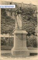 CPA - PARIS -SQUARE DES EPINETTES - STATUE DE MARIA DERAISMES - Parcs, Jardins