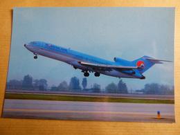 AIRLINE ISSUE / CARTE COMPAGNIE         KOREAN AIR   B 727 - 1946-....: Modern Era
