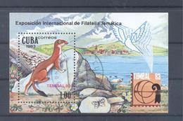 1983  Kuba  Mi-2740  21.Mai Briefmarkenausstellung Tembal 1983 Basel - Blocs-feuillets