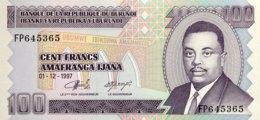 Burundi 100 Francs, P-37b (1.12.1997) - UNC - Burundi