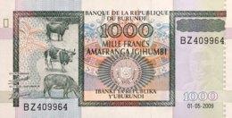 Burundi 1.000 Francs, P-46 (1.5.2009) - UNC - Burundi