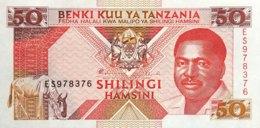 Tanzania 50 Shilingi, P-23 (1993) - UNC - Tanzanie