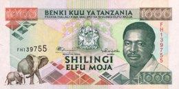 Tanzania 1.000 Shilingi, P-27b (1993) - UNC - Tanzanie