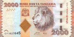 Tanzania 2.000 Shilingi, P-42a (2010) - UNC - Tanzanie