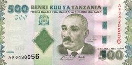 Tanzania 500 Shilingi, P-40 (2010) - UNC - Tansania