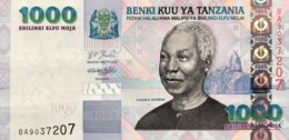 Tanzania 1.000 Shilingi, P-36b (2006) - UNC - Tansania