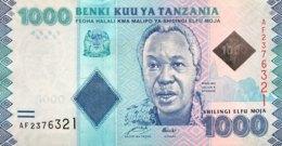 Tanzania 1.000 Shilingi, P-41 (2010) - UNC - Tanzanie