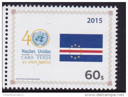CAPE VERDE, 2015, MNH, INDEPENDENCE ANNIVERSARY, 1v - Other