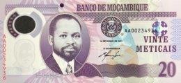 Mozambique 20 Meticais, P-149a (16.6.2011) - UNC - Moçambique