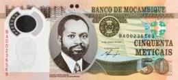 Mozambique 50 Meticais, P-150a (16.6.2011) - UNC - Moçambique