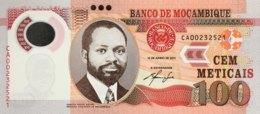 Mozambique 100 Meticais, P-151a (16.6.2011) - UNC - Moçambique