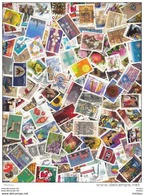 #GG, Canada, 100 Timbres Différents Grand Format Du Canada Décollés, 100 Different Large Size Stamps - Lots & Kiloware (mixtures) - Max. 999 Stamps