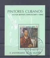 1979   Kuba  Mi-2410   15.Juni Gemälde Von Victor Manuel - Blocs-feuillets