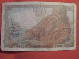 Billet FRANCE 20 Francs Pêcheur 1949 - 20 F 1942-1950 ''Pêcheur''