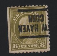 USA 667 SCOTT 508 NEW HAVEN CONN - Estados Unidos