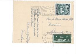 20948 - Christkindl  16.12.1963   Anges Musiciens + Vignette Über Christkindl - Natale