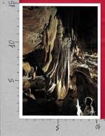 CARTOLINA VG FRANCIA - MIALET - Grotte De Trabuc - Draperie Le Gong - 10 X 15 - ANN. 1998 FRANCE 98 - France