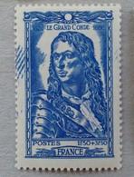 JOLIE VARIÉTÉ D'IMPRESSION SUR LE N° 768 LE GRAND CONDE - France