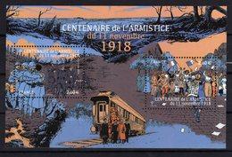 FRANCE 2018 Nouveauté Centenaire Armistice 1918 Bloc MNH ** - Blocs & Feuillets