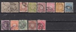 Japon Sèrie 1899 13 Valeurs - Japan