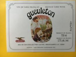 9093 - Geuleton Vin De Table Calvet - Art