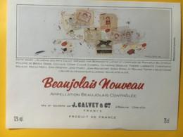 9094 - Beaujolais Nouveau Calvet Artiste Wilhelm Schlote - Art